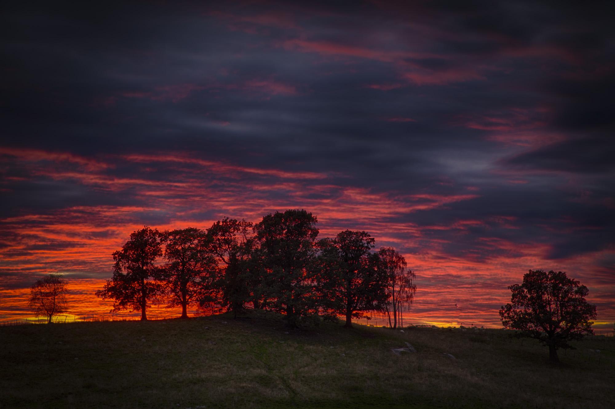 002 - Solnedgang ved Kirkeveien