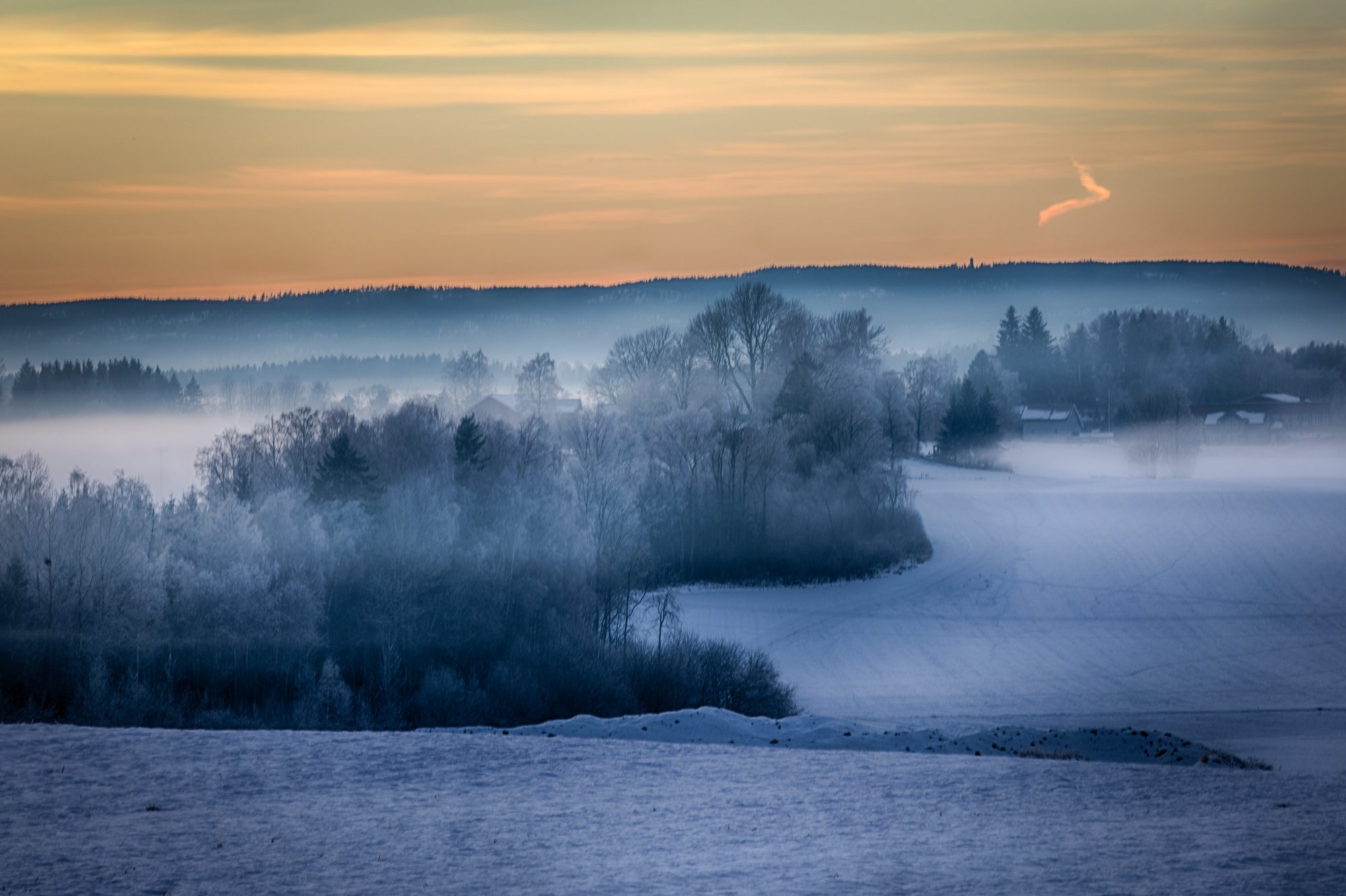 051 - Solnedgang i Ås